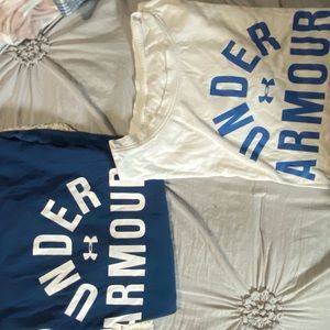 Two Under Armour T shirts